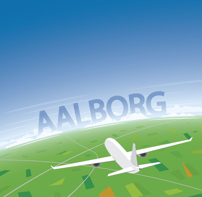 Flyv fra Aalborg Lufthavn